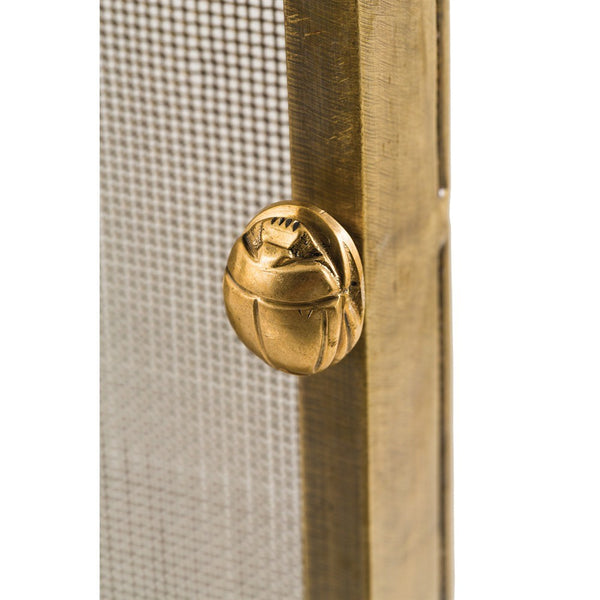 Arteriors Gita Screen Antique Brass