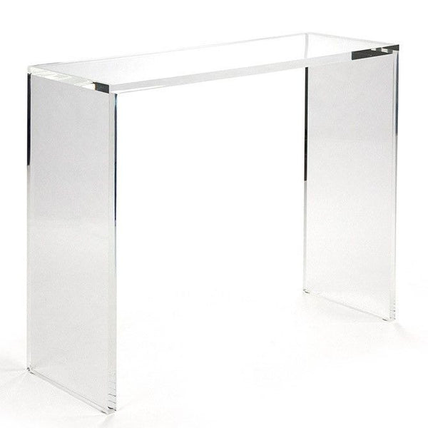 Zentique Cleon Acrylic Console Table