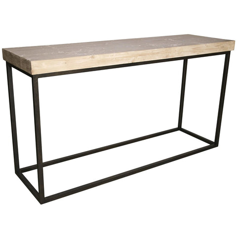 CFC Marin Console Table, RL Top