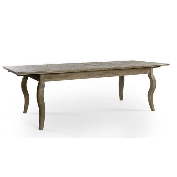 Zentique Rhone Oak Dining Table in Limed Grey Oak
