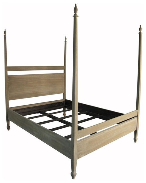 NOIR Venice Bed, Weathered