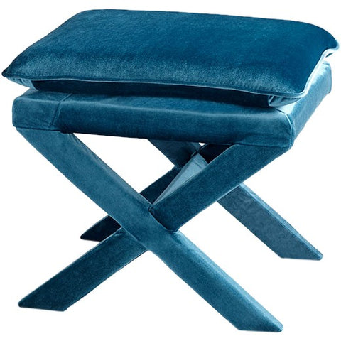 Cyan Otto Stool in Blue