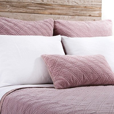 Pom Pom Brussels Coverlet in Lilac