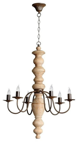 Cyan Wilshire 6 Light Chandelier