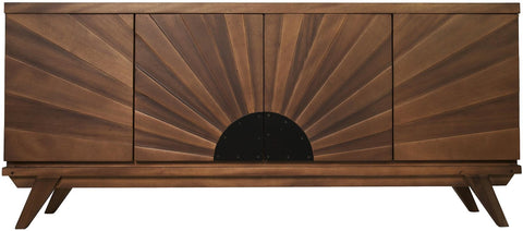 NOIR Sunset Console in Dark Walnut