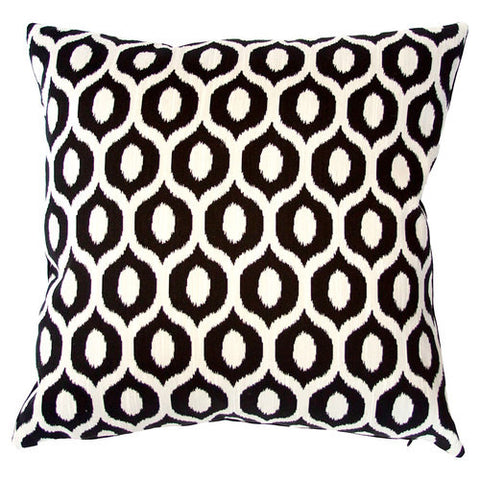 Square Feathers Istanbul Diamond Pillow