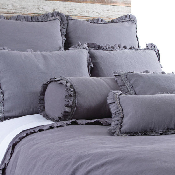 Pom Pom Mathilde Duvet Cover in Slate