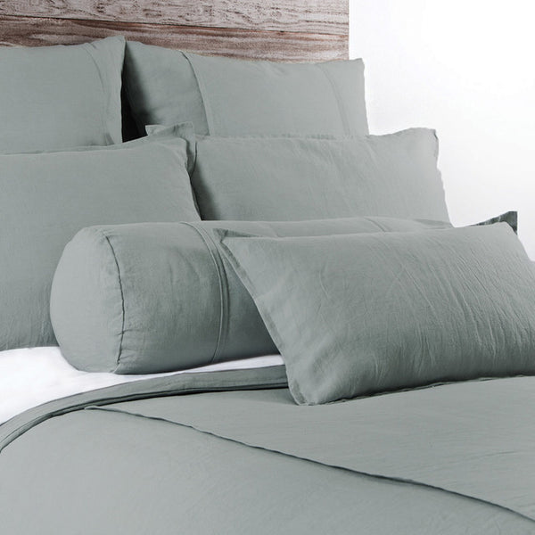 Pom Pom Louwie Duvet Cover in Sea Foam