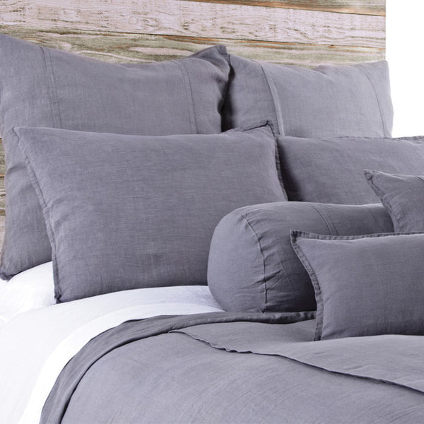 Pom Pom Louwie Shams in Slate
