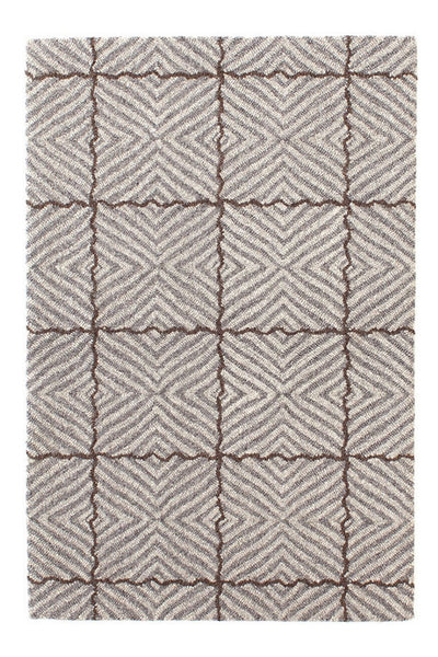 Dash and Albert Nigel Grey Micro-Hooked Wool Rug