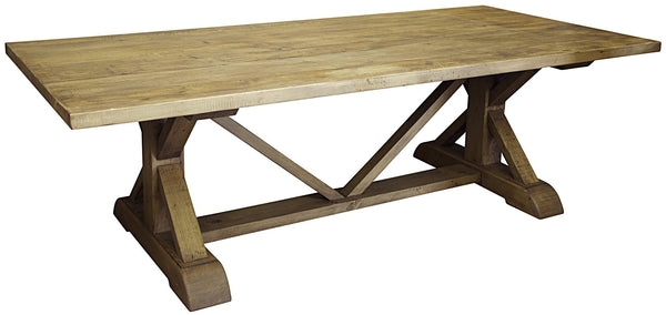 CFC Reclaimed Lumber X Dining Table