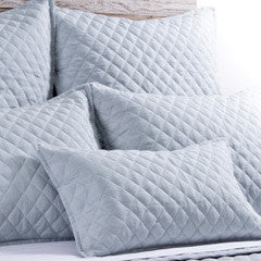 Pom Pom Hampton Coverlet in Ocean