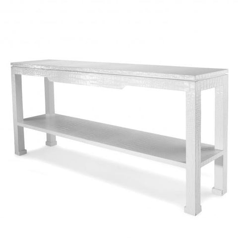 Jonathan Adler Preston Console Table in White