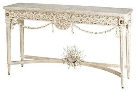 Currey and Company Devereux Console Table