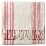 John Robshaw Striped Cotton Throw