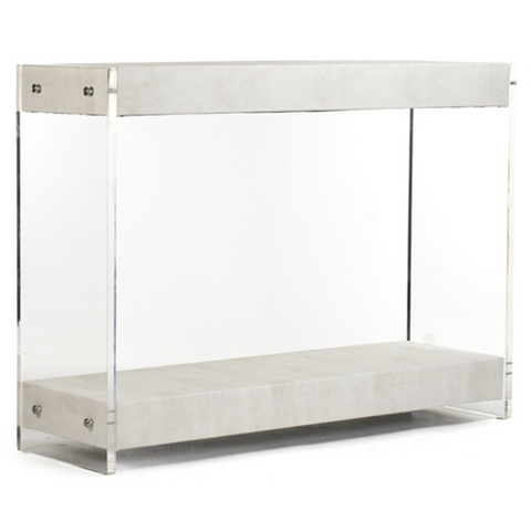 Zentique Parker Acrylic Console Table
