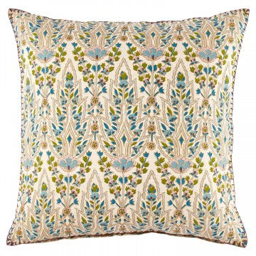 John Robshaw Lina Peacock Decorative Pillow