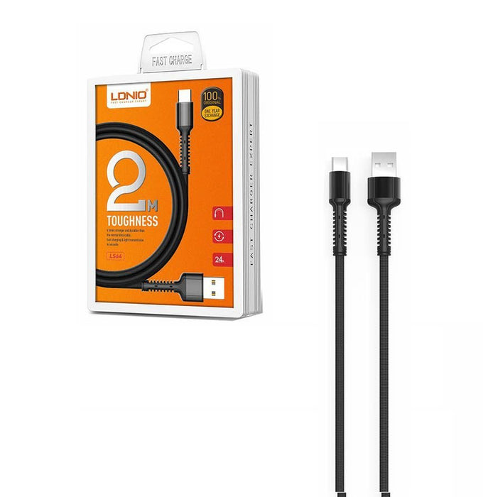 LDNIO Type C Charge and Sync Cable