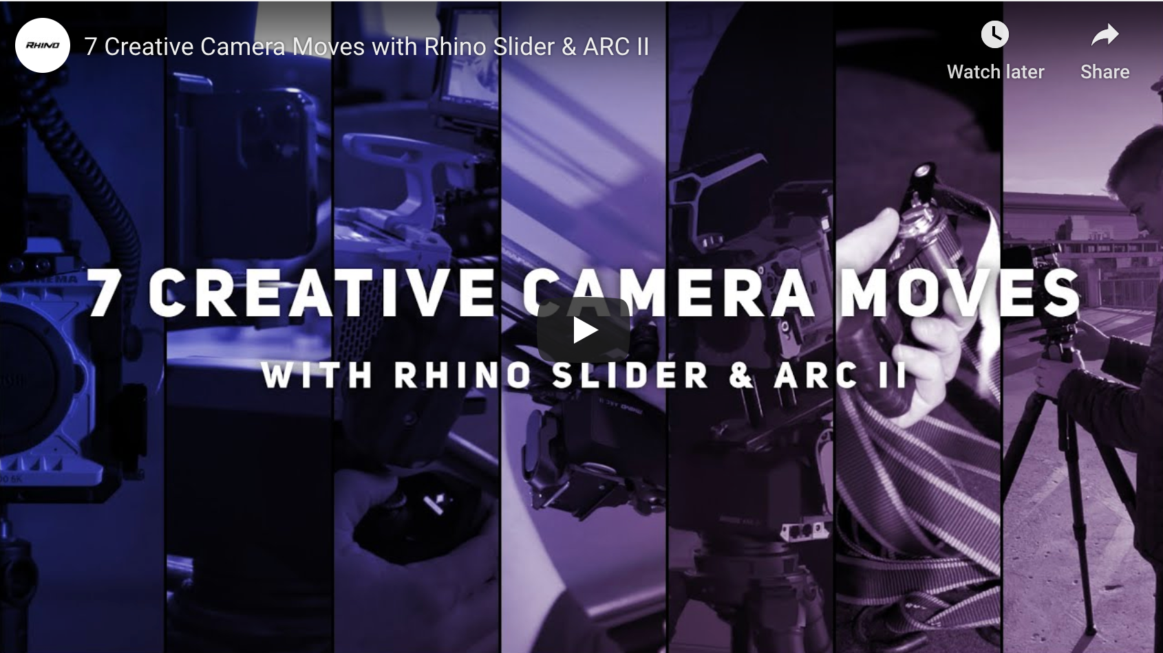 7 Creative Camera Moves with Slider + Arc II