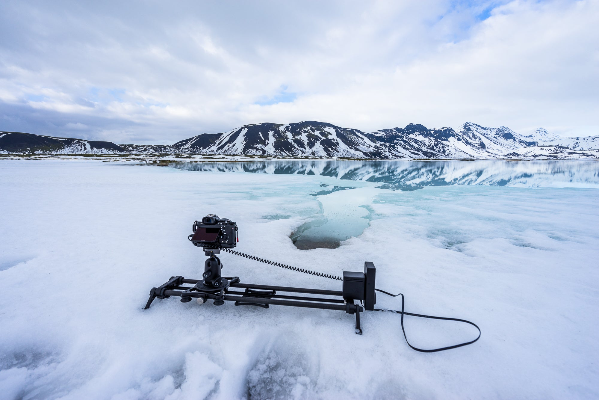Rhino Slider EVO and Rhino Motion in Iceland.
