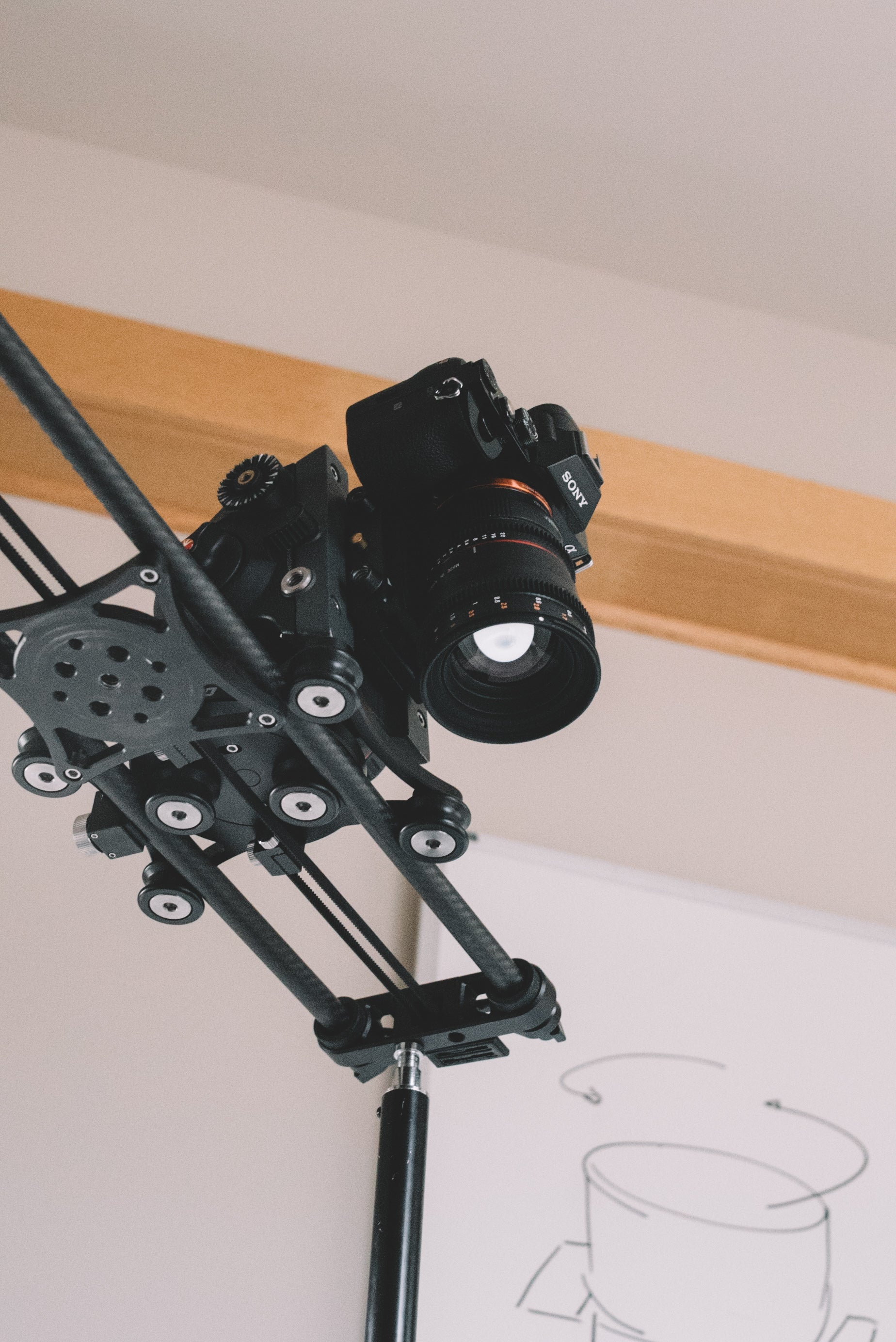 Overhead tracking Rhino Camera Gear