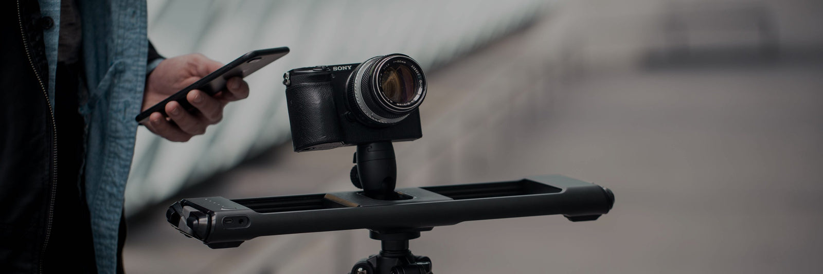 Motorized Camera Sliders for Time Lapse and Live Motion