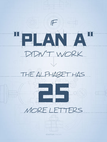 "If Plan ""A"" Didn't Work"