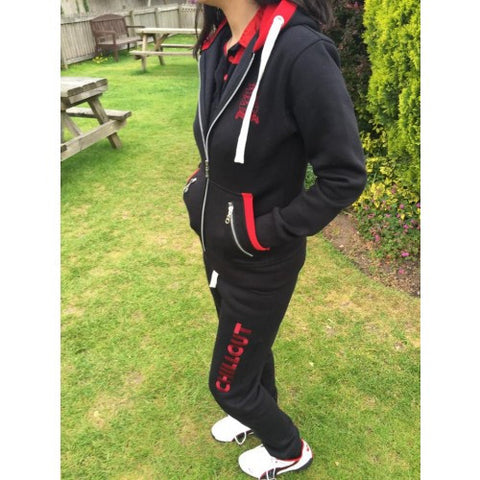Chillout Black & Red Jogging Pants