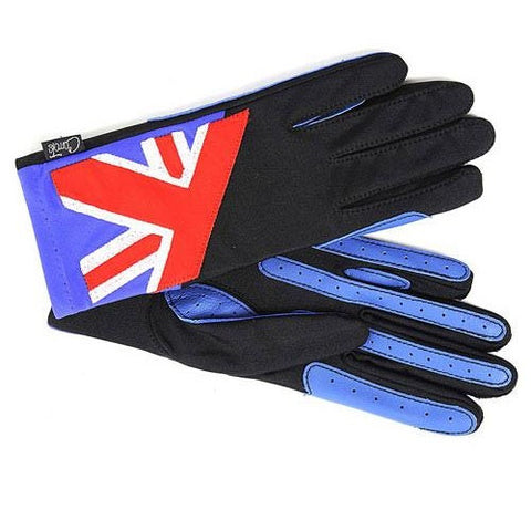 Gloves - Union Jack Blue & Red