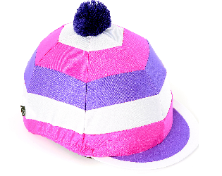Hat Cover - Cross Country XC Theme Riding