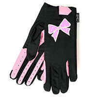 Gloves - Pink bow