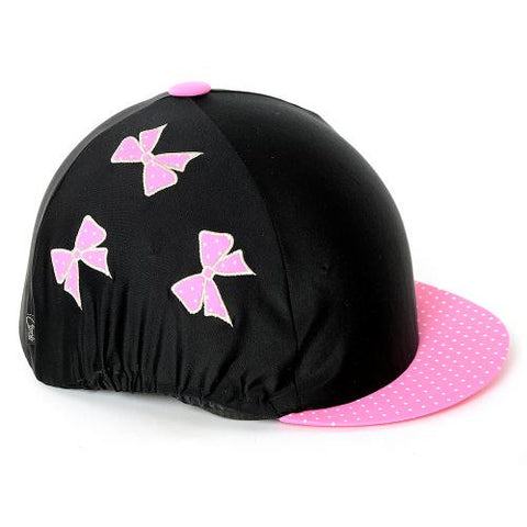Hat Cover Pink Bow