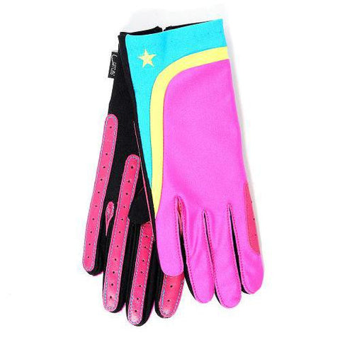 Gloves - XC Theme Pink Bright Star
