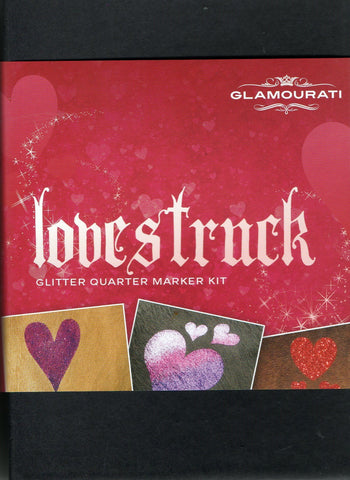 Glitter Quarter Marker Kit - Lovestruck