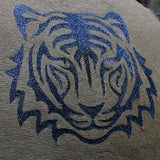 Stencil - Tiger - Packets of two stencils.
