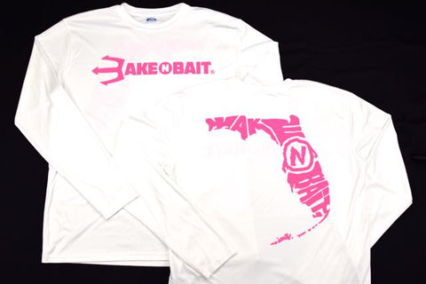 White/Pink - Florida - Long Sleeve - ON SALE!