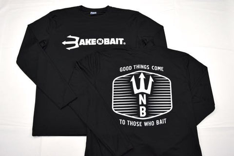 Black/White - Trident - Long Sleeve