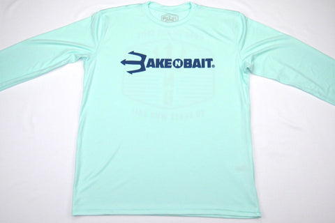 NEW! - Seagrass/Navy Blue - Trident - Long Sleeve