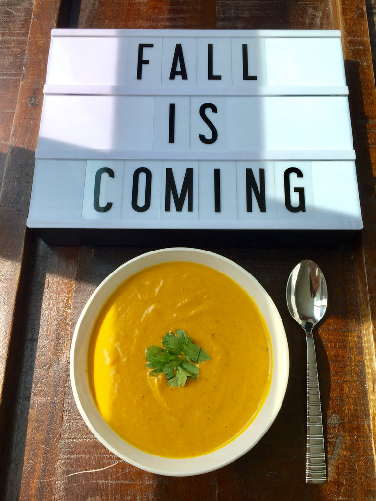 Fall Is Coming: Scratch Vegan Pumpkin Soup by JOE