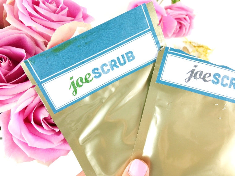 joeSCRUB Matcha Scrub & Charcoal Scrub Review by Adaatude