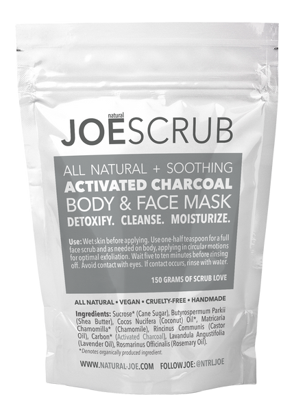 JOESCRUB Charcoal Body & Face Mask (150g)