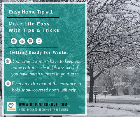 Easy Home Tips by GOVINDSGROVE.COM
