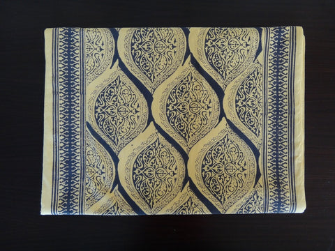 Fading Sun Table Runner~Hand Block Printed
