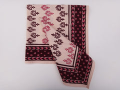 Mohana Dinner Napkins~Coordinated For Table Runner~Hand Block Printed