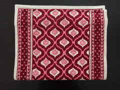Mohana Table Runner~Moroccon~Hand Block Printed For Thanksgiving Table