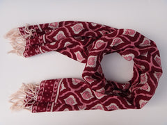 Mohana Scarf - Govinds Grove Handmade - Around The Neck View