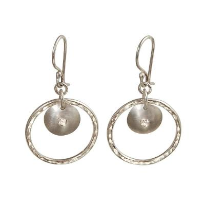 "Silver ""Jane"" Earrings - Emma's Jewelry Box"