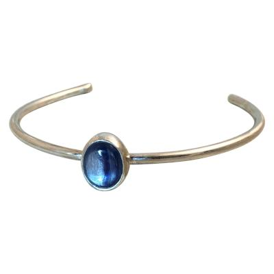 Oval Kyanite Cuff Bracelet - Emma's Jewelry Box