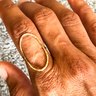 "14K Gold ""Linda"" Ring - Emma's Jewelry Box"