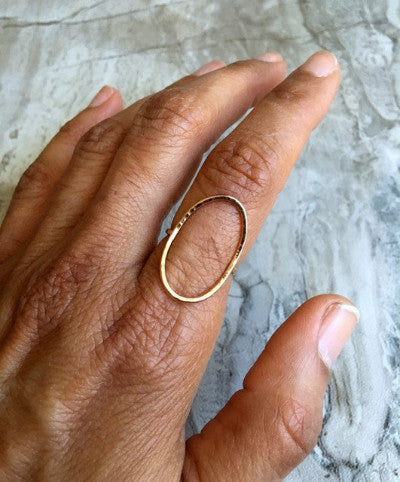 "Rose Gold ""Linda"" Ring - Emma's Jewelry Box"